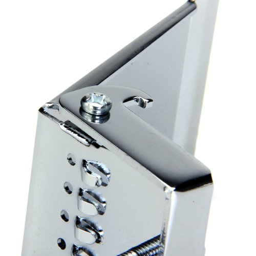 BANJO TAILPIECE CLAMSHELL Plate 5 String Chrome by Generic (Image #7)