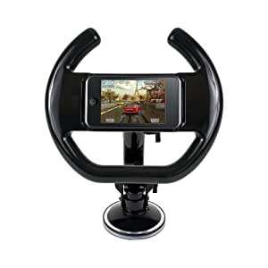 Steering Wheel for iPhone and iPod Touch with Suction Cup