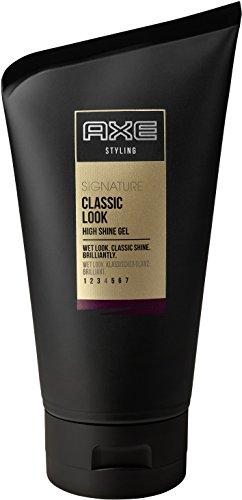 AXE Haarstyling Haargel für Männer Classic Look Signature, 3er Pack (3 x 125 ml)
