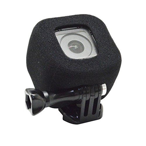 Semoic Wind Noise Reduction Windproof Sponge Foam Cover for Gopro Hero 5 4 Session Cam by Semoic (Image #5)