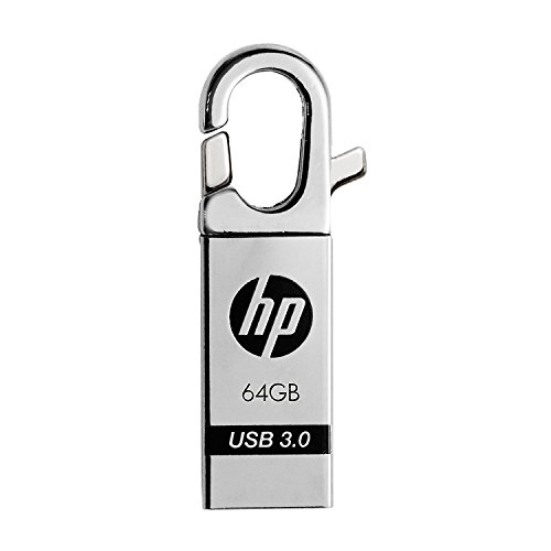 HP 64GB USB 3.0 Stylish Clip-On Hook Flash Drive x752w