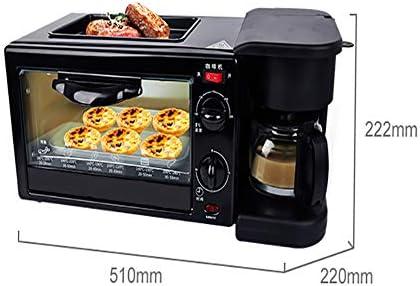 Machine à petit déjeuner 3 en 1 Machine à pain programmable entièrement automatique avec four pour machine à café