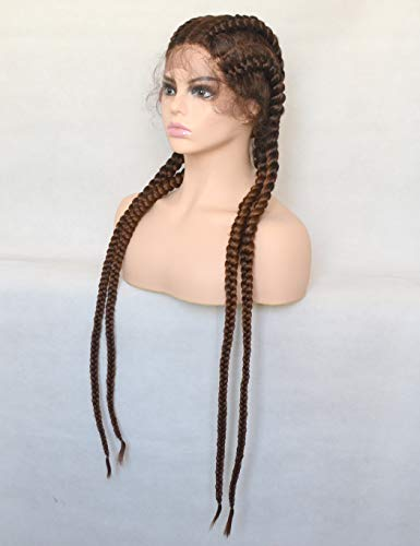 Braid wig with baby hair _image1