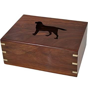 Memorial Gallery Custom Wooden Box Urn Your Pet s Silhouette