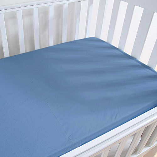 Deluxe Ultra Soft Cotton Knit Fitted Baby Crib Mattress Shee