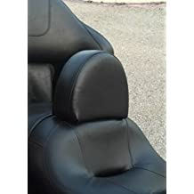 Harley Davidson Touring Drivers Backrest NON Studded Quick Release for Ultra Classic, Electra Glide or other touring bikes with Pillow top seats includes mounting hardware 100% AMERICAN MADE Adjustable Forward and Back