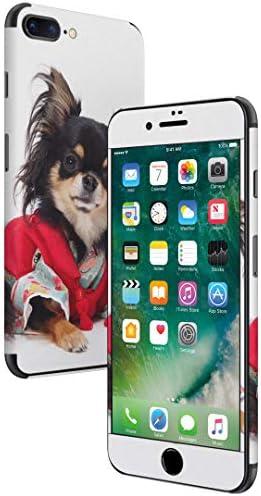 igsticker iPhone SE 2020 iPhone8 iPhone7 専用 スキンシール 全面スキンシール フル 背面 側面 正面 液晶 ステッカー 保護シール 005221 アニマル 写真・風景 犬 チワワ 写真