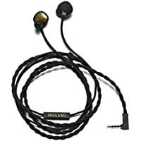 Molami Stitch In-Ear Headphone, Black/Gold (4090983)