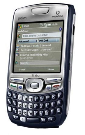 Palm Treo 750 Cell Phone with Touch Screen, Bluetooth, QWERTY Keyboard, 3G Data (AT&T)