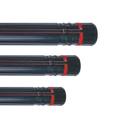 [해외]CONDA 플라스틱 보관 튜브 아트 도면 튜브 플라스틱 확장 가능 운반 케이스 지름 : 3 길이 : 24.5 A15334/CONDA Plastic Storage Tube Art Drafting Tube Plastic Expandable Carrying Case Diameter: 3  Length: 24.5  A15334