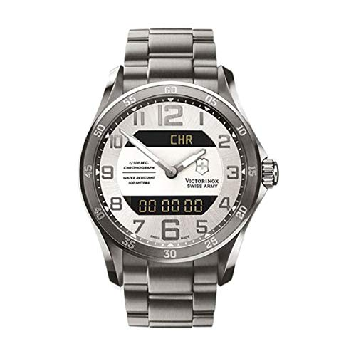 Victorinox Swiss Army Men's 241301 Classic Silver Dial Watch