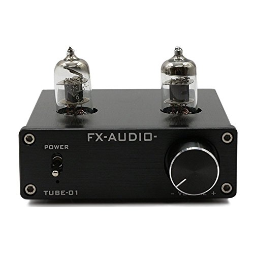 Lysignal 6J1 Tube Box Headphone Amplifier Preamp DC12V Black LYCHEE LIMITED