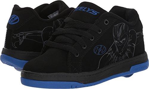Wheel Heelys (Heelys Unisex Split Black Panther (Little Kid/Big Kid/Adult) Black/Royal 6 M US Big Kid)