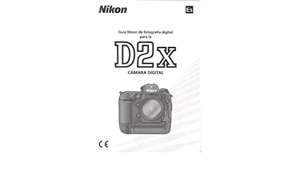 nikon d2x digital camera original instruction manual spanish text rh amazon com Nikon D4 nikon d2x user guide