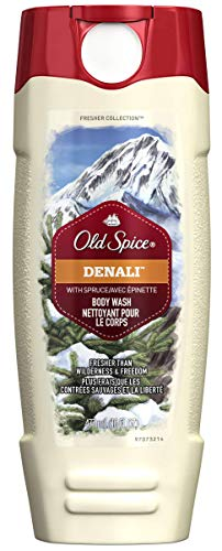 Old Spice Fresher Collection Men's Body Wash, Denali Scent, 16 oz/473 ml (Pack of 3) (Old Spice Pure Sport Body Wash Review)
