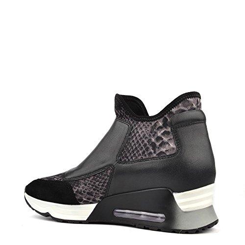 Sneaker Lazer, Signore Nero