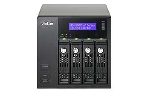 "QNAP VS-4108 Pro+ Torre Ethernet Negro - Unidad RAID (SATA, Serial ATA II, Serial ATA III, 3.5"", 0, 1, 5, 6, JBOD, 4 GB, 10,100,1000 Mbit/s, IEEE 802.3, 802.3u, 802.3ab)"
