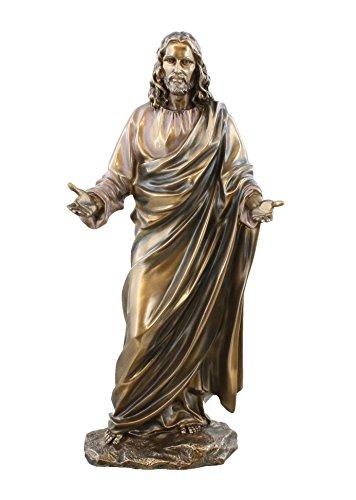 "G STATUE Real Bronze Powder Cast Statue Sculpture 12"" ()"