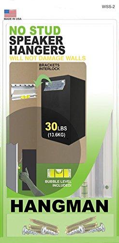 HANGMAN WSS-2 Products No-Damage Speaker Hangers, 30