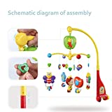 GrowthPic Musical Mobile Baby Crib Mobile with