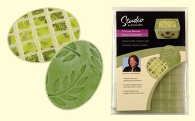 Sculpey Texture Makers -Ferns & Squares