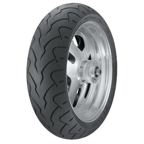 Dunlop D207 Tire - Rear - 180/55ZR18 , Speed Rating: W, Tire Type: Street, Tire Construction: Radial, Tire Size: 180/55-18, Rim Size: 18, Load Rating: 74, Position: Rear, Tire Application: Cruiser 300131