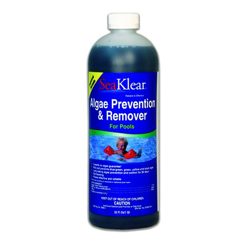 Halosource SeaKlear 90 Day Pool Algae Preventer and Remover - 1 Quart by Halosource