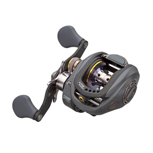 Lews Fishing TPG1HL Tournament Pro G Speed Spool Reel, 28 Ipt, 6.8 1 Gear Ratio, 10 1 Bearings, Left Hand
