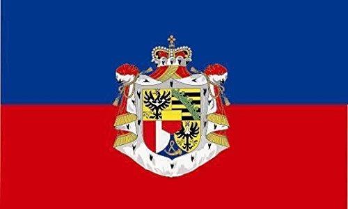 État U24 Drapeau du Liechtenstein drapeau haute qualité pour bateau drapeau 150 x 250 cm