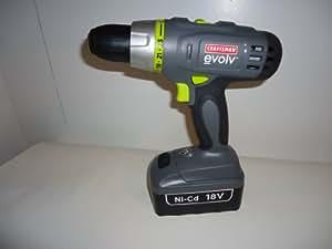 Craftsman (Evolv) 18 Volt Craftsman Cordless Drill