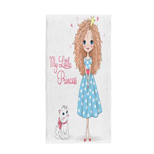 - Pinbeam Bath Towel Beautiful Cute Romantic Redhead Curly Girl Freckles Towel Towel