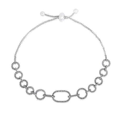 shaze Snow Bubble Bracelet|Gift for Her Birthday|Christmas Gift for Her by Shaze
