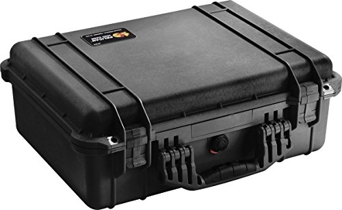 Pelican 1520 Case With Foam (Black) by Pelican