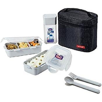 Amazon.com - Microwavable Airtight 4 Cup Bento Lunch Box