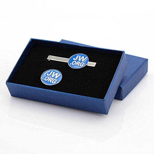 Perfect Jewelery accessorie Gift Jw org Box Round Blue
