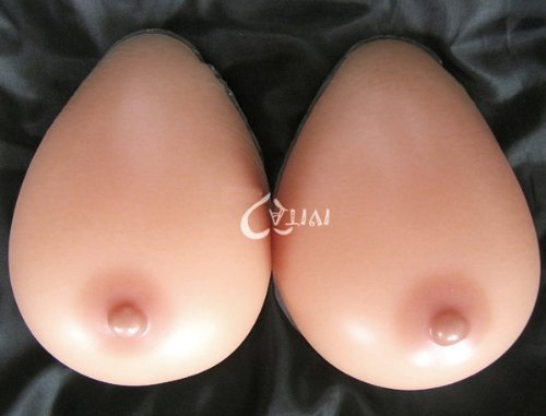 Forever Young Silicone Breast Form Full Boob TV Colour Cup D