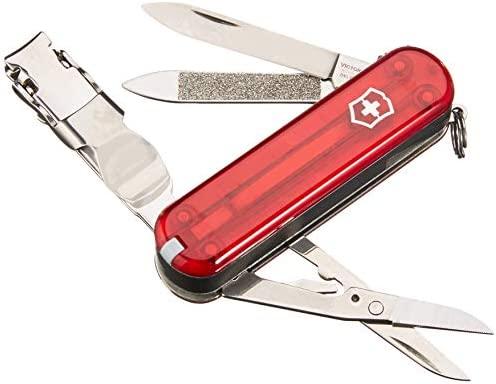 Victorinox 0.8413.3B1 - Navaja de bolsillo Swiss Army, Color Rojo