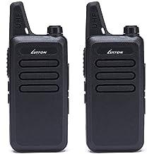 Walkie Talkies LT-316 Outdoor Camping Hiking Hunting Uhf Mini Walkie Talkies 3 Watts Output 5-10 Miles Range Micro Usb Charging Amateur Two Way Radio