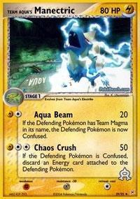 (Pokemon - Team Aqua's Manectric (29) - EX Team Magma vs Team Aqua)