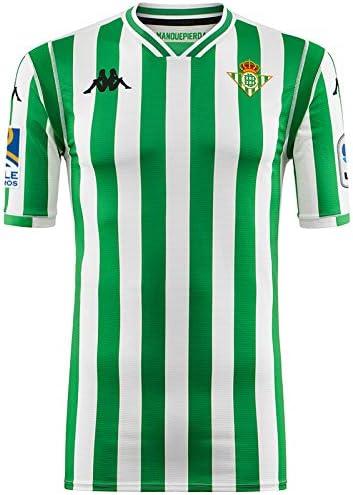 Kappa Kombat Replica Home Camiseta, Hombre, Blanco/Verde, M: Amazon.es: Deportes y aire libre