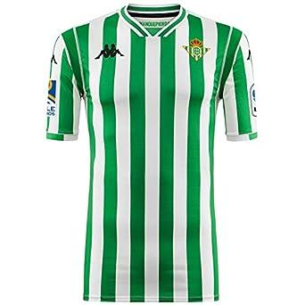 1ª equipación Réplica - Real Betis Balompié 2018/2019 - Kappa Kombat Replica Home - Adulto