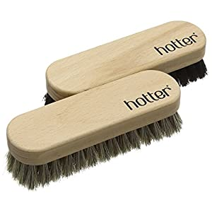 Hotter Twin Brush Set Shoe Brushes, Beige (Beige), One Size