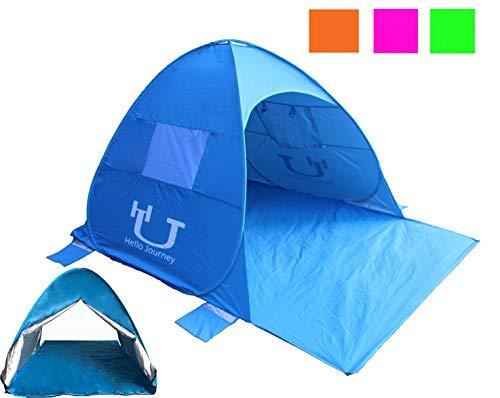 Hello Journey POP UP automiatic Beach Tent antiUV Sun shelter