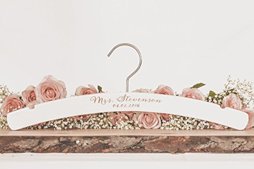 WEDDING hanger personalized bridal