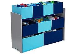 Delta Children Deluxe 9-Bin Toy Storage ...