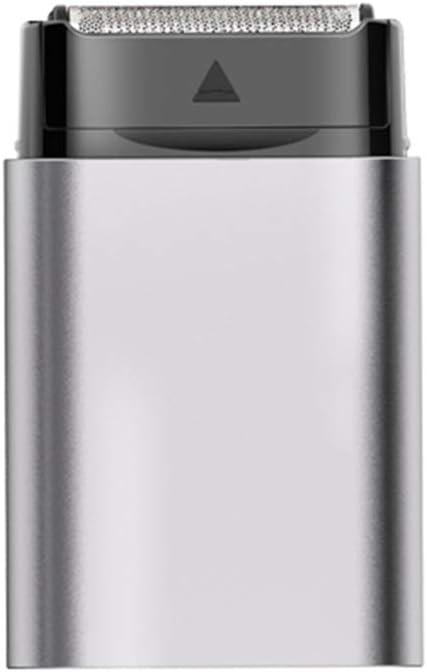 YHDD Afeitadora eléctrica compacta Navaja de Afeitar portátil de ...