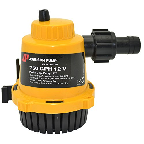 Johnson Pumps of America 22702 Marine Pro-Line 750 GPH Bilge Pump primary