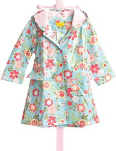 Amazon.com: Pluie Pluie Lined Girls Raincoat by Pluie Pluie (4-5 ...