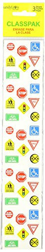 Sandylion Classpak Stickers-Traffic Signs