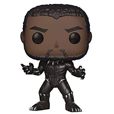 Funko POP! Marvel: Black Panther Movie - Black Panther (Styles May Vary) Collectible Figure: Funko Pop! Marvel:: Toys & Games